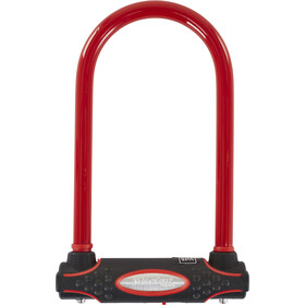 Masterlock 8195 Antivol en U 13 mm x 210 mm x 110 mm, red